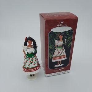Barbie Hallmark Keepsake Ornament Mexican